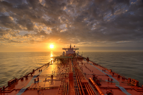 Ship - Heather Knutsen at Sunset