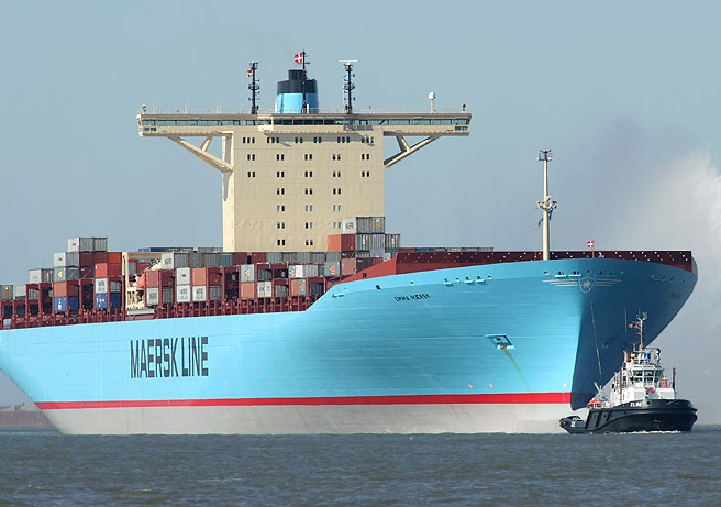 File photo of the Emma Maersk. Image: Maersk Line