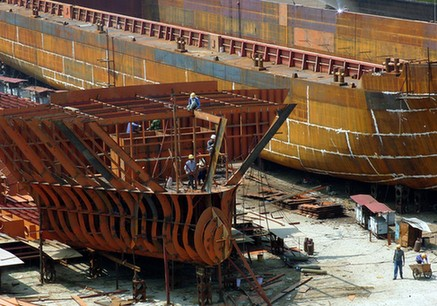 Chinese Shipyard
