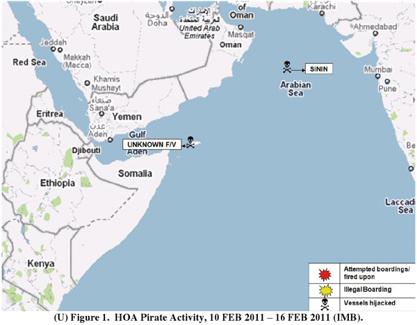 Horn of Africa Piracy Activity