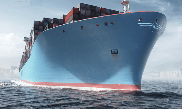 Maersk Triple-e containership
