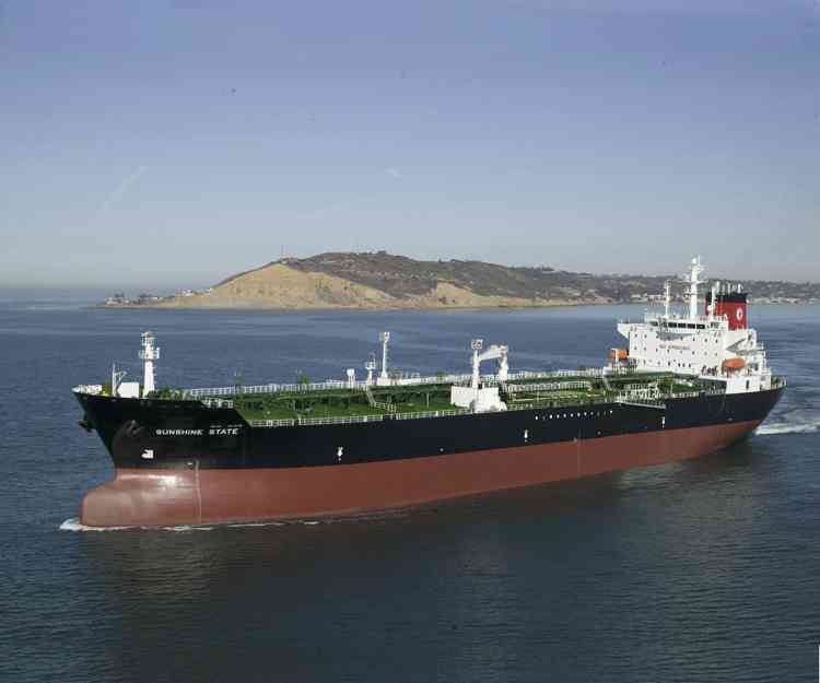 Jones Act tanker file photo.