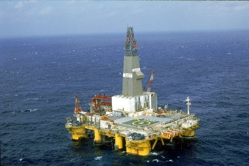 Transocean marianas deepwater drilling rig
