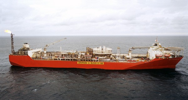 Gryphon FPSO Maersk Oil UK North Sea