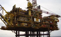 Gannet-Alpha-drilling-platform