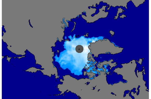 northwest-passage-arctic-ice-extent-noaa imagery