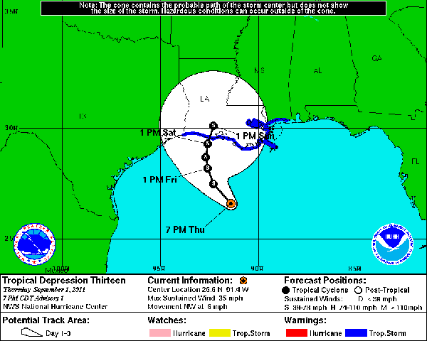 Gulf of Mexico TD13 anadarko