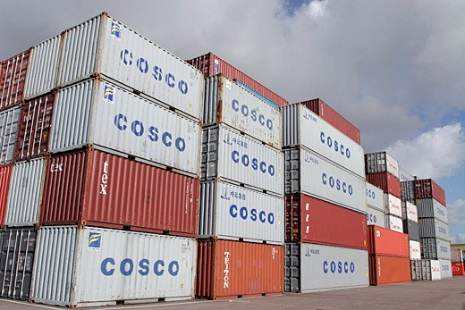 cosco containers china ocean shipping company