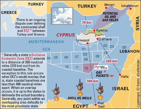 cyprus oil and gas drilling