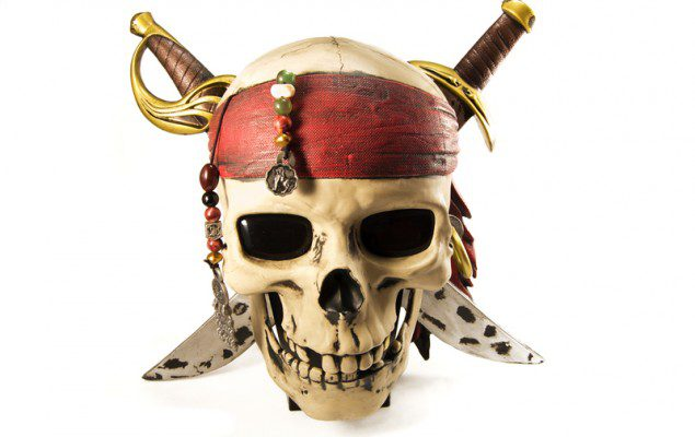 piracy pirate skull and daggers