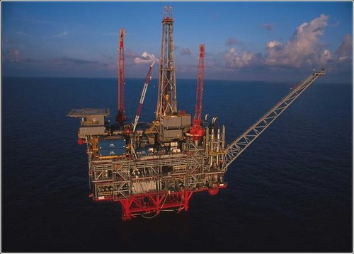 Marathon Oil's Petronius platform in the U.S. Gulf of Mexico