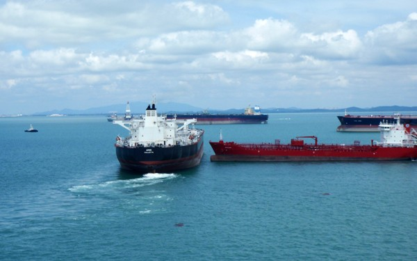 Tanker collision 