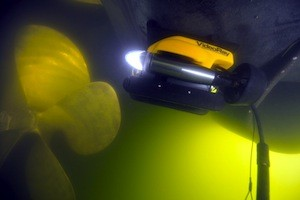 Submersible ROV's, such as this one by VideoRay, have been used by the Department of Homeland Security in various ports since 2003.