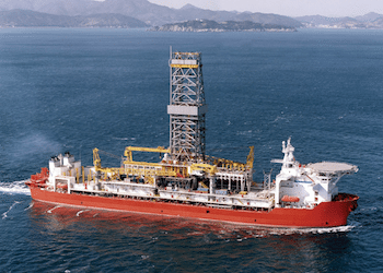 Dolphin Drilling&#039;s Belford Dolphin drillship. Photo: Dolphin Drilling