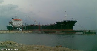 MT halifax oil products tanker