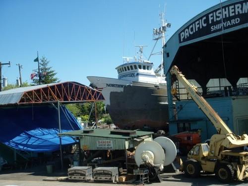 In 2010, Pacific Fishermen Shipyard and Electric LLC of Seattle, WA was awarded over $600,000 in federal grants.