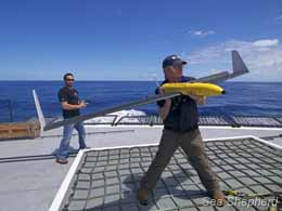 Peter Brown steve irwin drone sea shepherd