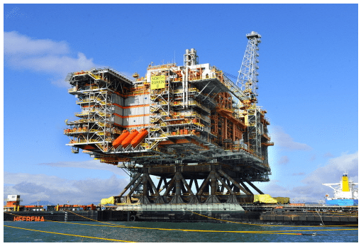 The NR2 offshore platform. Photo: HHI
