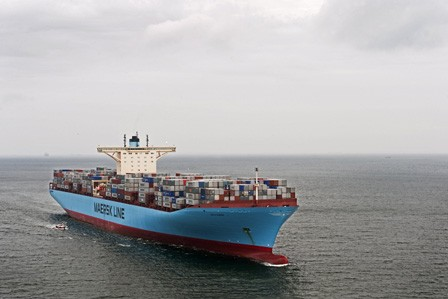 Maersk Line containership. Photo: Maersk