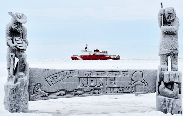 USCGC Healy icebreaker nome alaska coast guard cutter