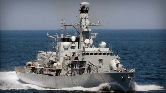 After an 11 month, £20m refit, the HMS Argyll is currently sailing on six-month deployment in the middle east. Photo: Royal Navy