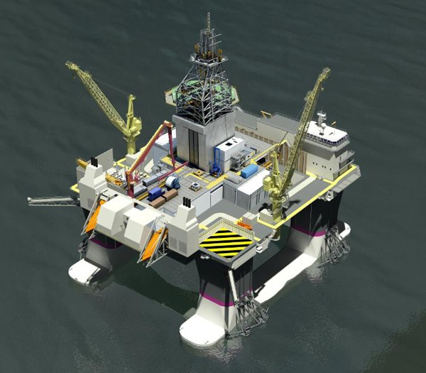 Kongsberg cat D rig songa offshore
