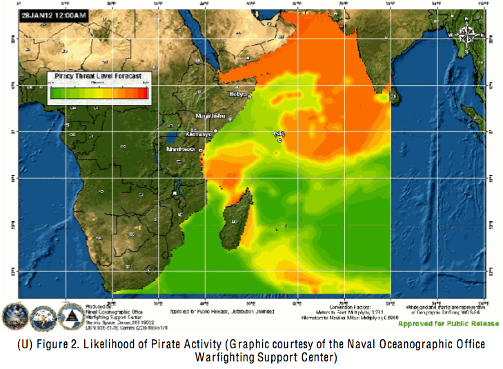 indian ocean piracy weather forecast