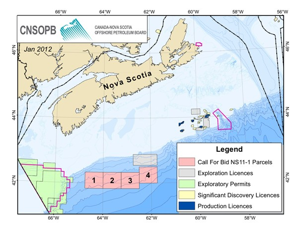 offshore drilling eastern canada nova scotia