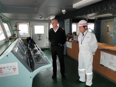 nyk lines ship bridge training