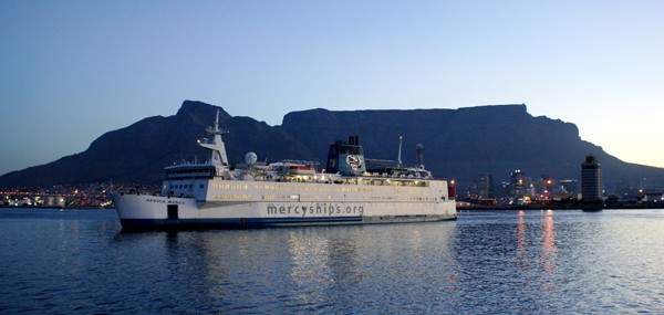 mercy ships cape town south africa