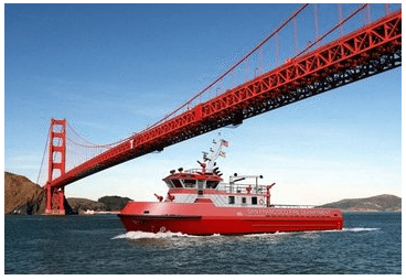 SFFD's Super Pumper Fireboat