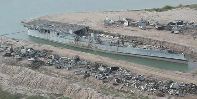 uss cabot-scrapped