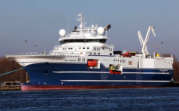 Furgo's C-Class seismic vessel MV Geo Caspian.  Photo: Joost J. Bakker IJmuiden via Flickr