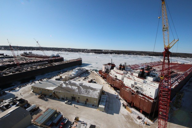 Vessels to Depart Bay Shipbuilding After Lay-Up