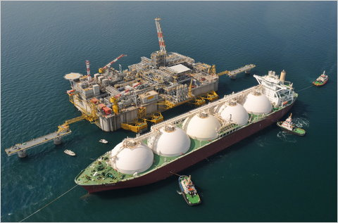 LNG terminal regasification exxonmobil