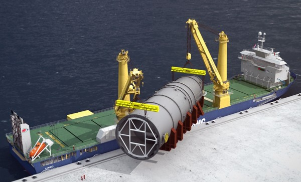 jumbo shipping k-class cargo ship