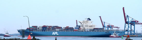 APL Finland apm terminals gothenburg containership