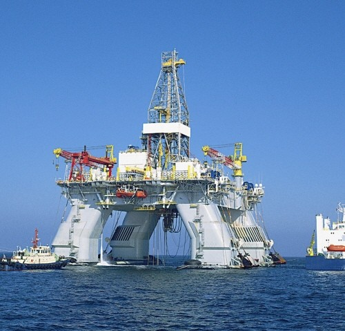 Deepwater Nautilus transocean hyundai heavy semisubmersible drilling rig reading &amp; bates