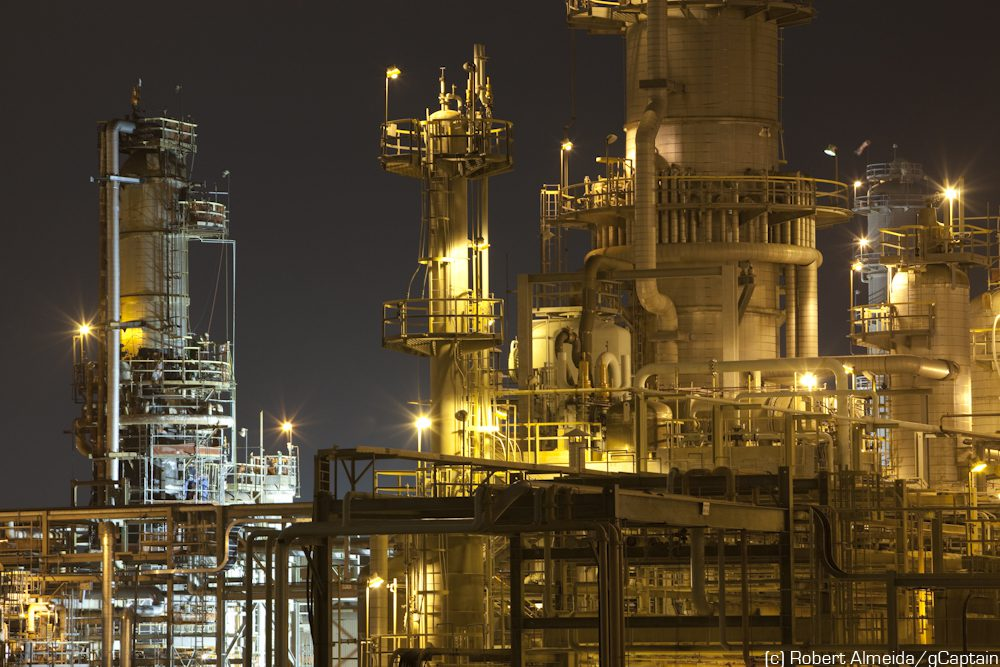 houston refineries robert almeida