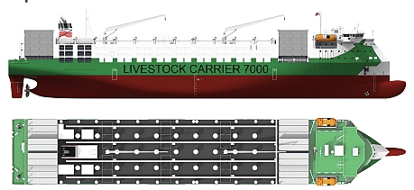 groot ship design livestock carrier