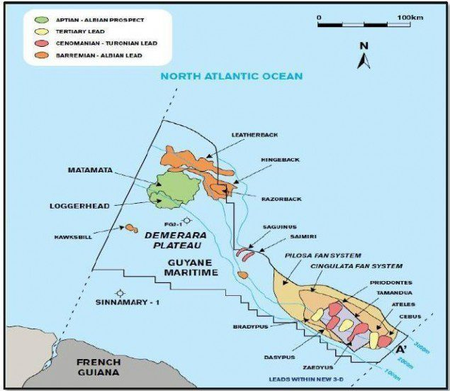 Guyane Maritime Permit (Source: Northern Petroleum)
