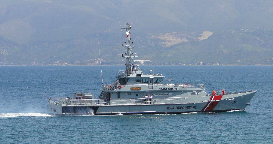 damen Albanian Coast Guard stan