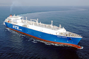NYK Lines LNG Carrier