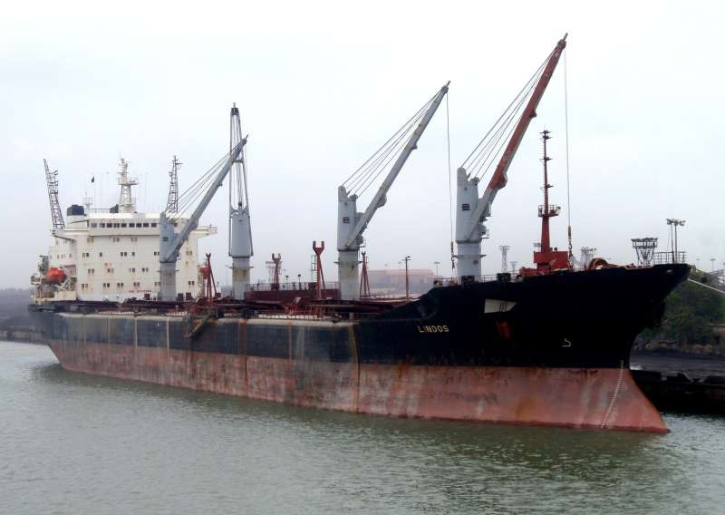 lindos bulk carrier goldenport