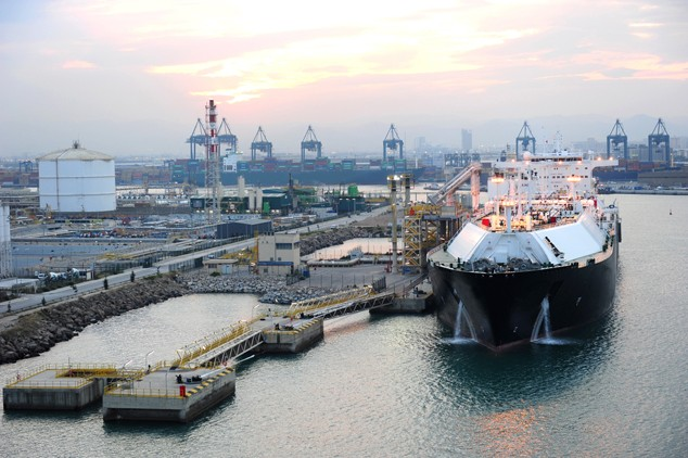 lng carrier port