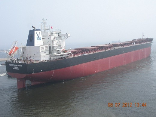 mv peruvian express vroon
