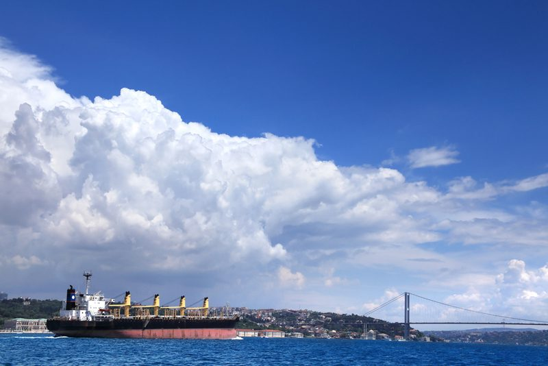 bulk carrier bosphorus shutterstock