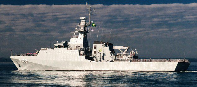 BAE systems amazonas brazilian navy ocean patrol vessel