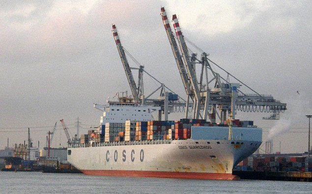 COSCO Guangzhou RaBoe