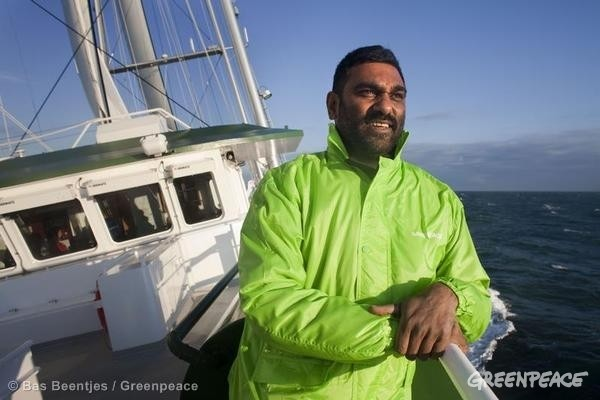 kumi naidoo greenpeace
